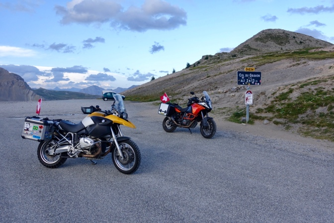 2 Rookies on the Alpenbutt Rally